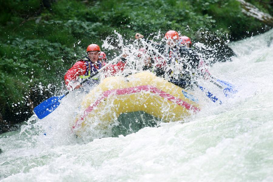Rafting auf Salza und Enns