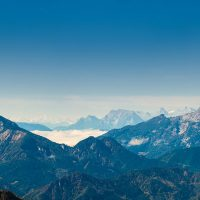 Blick von der Hochkar 360 Skytour Richtung Süden