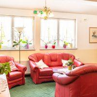 Lounge im Hotel Garni - Pension Scheiblechner