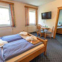 Familienzimmer im Hotel Garni - Pension Scheiblechner