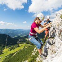Klettersteige am Hochkar